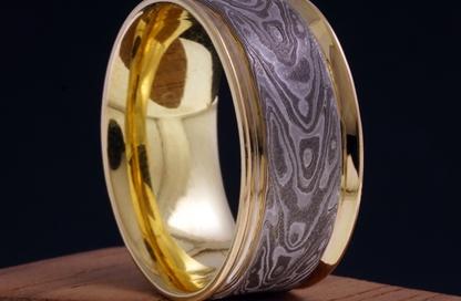 anello mokume