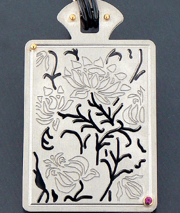Silver neklace, Orafa ABC