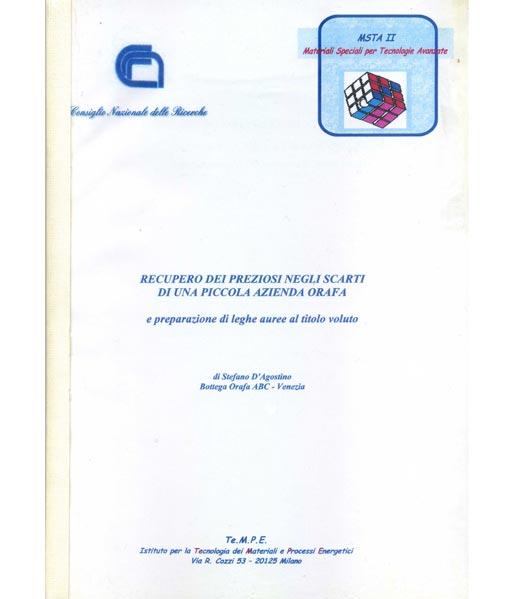 Libro Andrea D'Agostino, Goielli Venezia, 1998