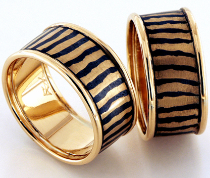 Niello rings, Design collection