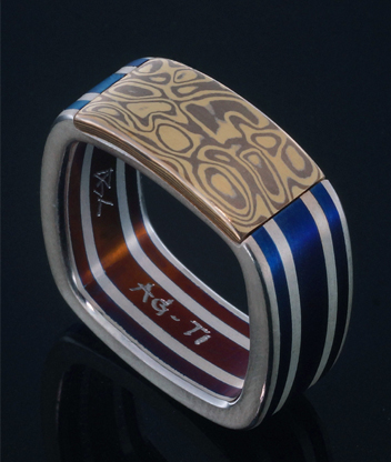 Titanium jewelry, Galleries