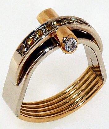 AnelV ring, design collection