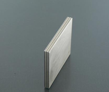 Titanium and silver Mokume Gane layers