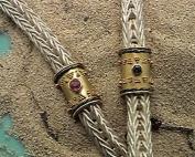 bracciali maglia romana granulazione etrusca