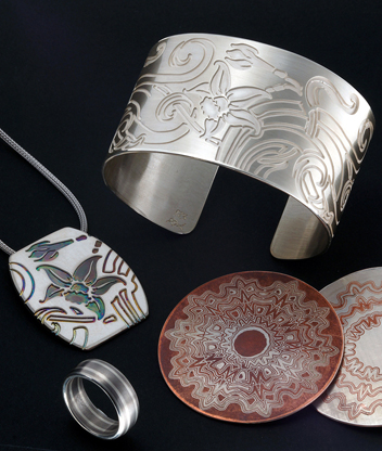 mokume gane jewels